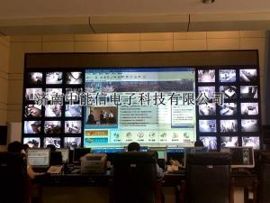 圆满完成济南市公安局110指挥中心大屏幕维护