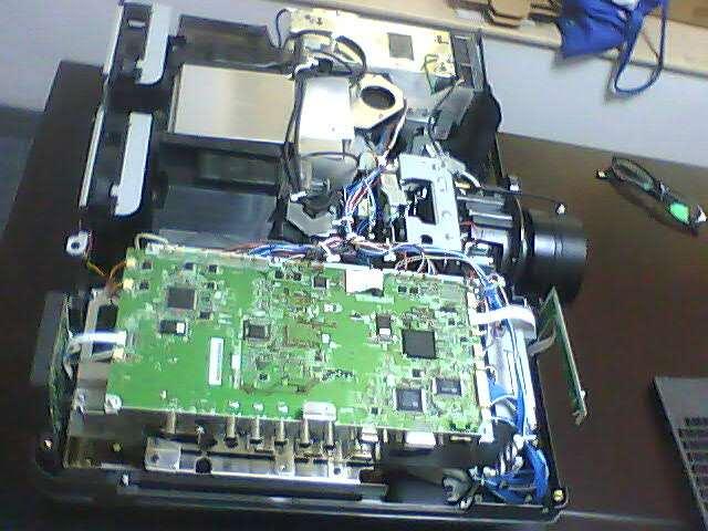 NEC投影机维修