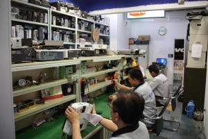 NEC投影仪维修